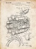 Aircraft Propulsion & Power Unit Patent - Vintage Parchment