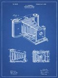 Photographic Camera Patent - Blueprint