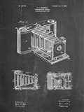Photographic Camera Patent - Chalkboard