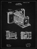 Photographic Camera Patent - Vintage Black