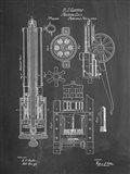 Machine Gun Patent - Chalkboard