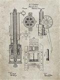 Machine Gun Patent - Sandstone