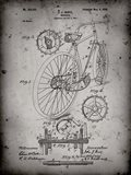 Bicycle Patent - Faded Grey