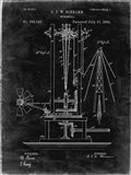 Windmill Patent - Black Grunge