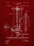 Windmill Patent - Burgundy