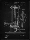 Windmill Patent - Vintage Black