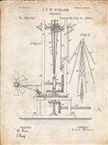 Windmill Patent - Vintage Parchment