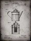 Coffee Percolator Patent - Faded Grey
