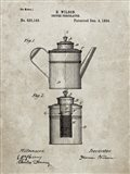 Coffee Percolator Patent - Sandstone