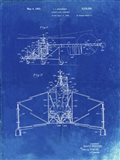 Direct-Lift Aircraft Patent - Faded Blueprint