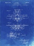 Amphibian Aircraft Patent - Faded Blueprint