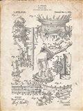 Diver's Suit Patent - Vintage Parchment