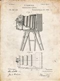 Photographic Camera Patent - Vintage Parchment