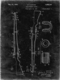 Semi-Automatic Rifle Patent - Black Grunge
