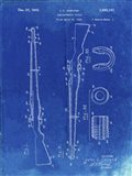 Semi-Automatic Rifle Patent - Faded Blueprint