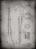 Semi-Automatic Rifle Patent - Faded Grey