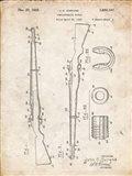 Semi-Automatic Rifle Patent - Vintage Parchment