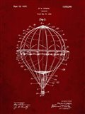 Balloon Patent - Burgundy
