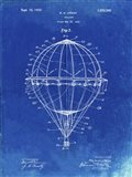 Balloon Patent - Faded Blueprint