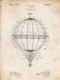 Balloon Patent - Vintage Parchment