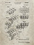 Toy Building Brick Patent - Sandstone