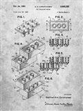 Toy Building Brick Patent - Slate