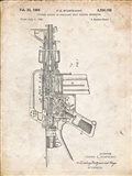Firearm With Auxiliary Bolt Closure Mechanism Patent - Vintage Parchment