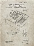 Type Writing Machine Patent - Sandstone