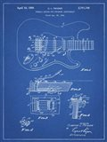 Tremolo Device for Stringed Instruments Patent - Blueprint