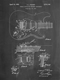 Tremolo Device for Stringed Instruments Patent - Chalkboard