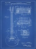 Guitar & Combined Bridge & Tailpiece Therefor Patent - Blueprint