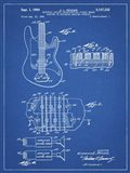 Electric Guitar Patent - Blueprint