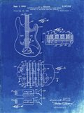 Electric Guitar Patent - Faded Blueprint