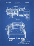 Blueprint Army Troops Transport Truck Patent