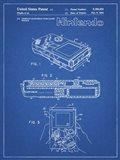 Blueprint Nintendo Game Boy Patent
