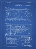 Blueprint Pin Ball Machine Patent
