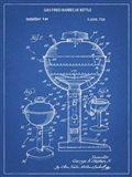 Blueprint Webber Gas Grill 1972 Patent