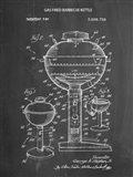 Chalkboard Webber Gas Grill 1972 Patent