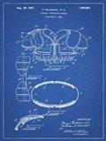 Blueprint Football Shoulder Pads 1925 Patent