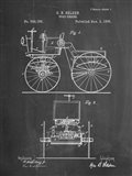 Chalkboard Motor Buggy 1895 Patent Print