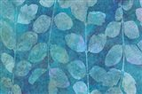Leaf Pattern Blue