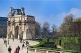 Arc de Triomphe du Carroussel and the Tuileries Garden