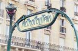 Art Nouveau Entrance of the Paris Metro