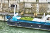 Garden Boat In The Seine River