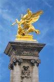 Golden Fame Statue On Pont Alexandre III - II