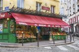Green Grocer In Paris