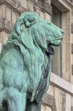 Lion Statue Of The Lions Gate Of The Louvre