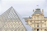 Louvre Palace And Pyramid II