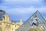 Louvre Palace And Pyramid III