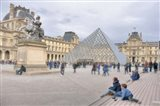 Louvre Palace And Pyramid IV